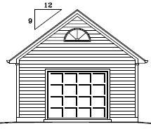 Garage Plan 18×32 One Car Garage