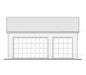 Garage Plan 24×32 Three Car Garage