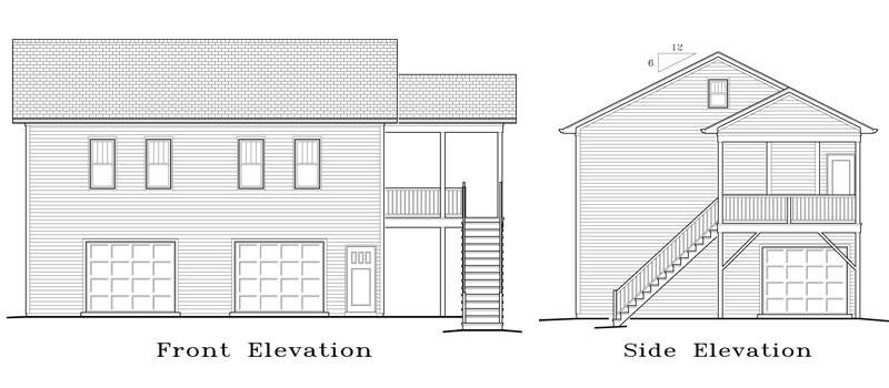 Garage Plan 36×30 Garage Apartment